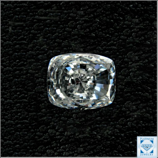 1.5 carat  radiant  cushion cut cz stone