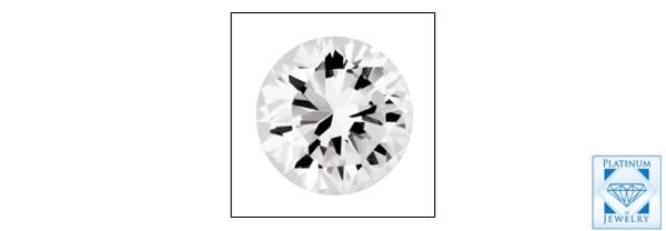 1.5 CARAT ROUND DIAMOND STIMULANT CUBIC ZIRCONIA