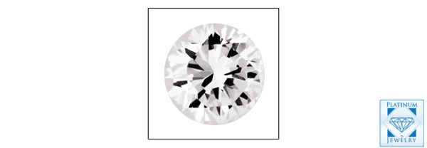 Loose Cubic Zirconia 0.25 carat Round CZ Stone