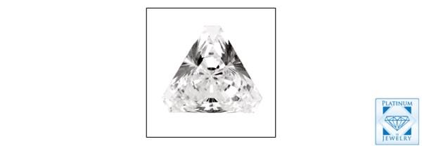 High Quality Triangle cz loose stone