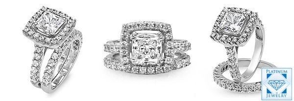 cz engagement rings