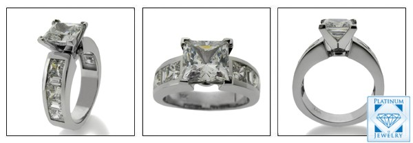 2 Ct cz engagement  ring