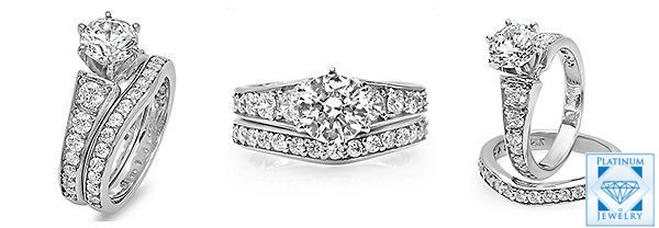 Round Diamond CZ rings