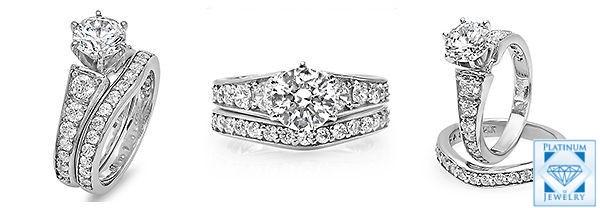 Round Diamond CZ rings