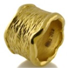 22k gold hand made chic band